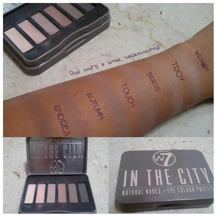 palette nude in the city w7